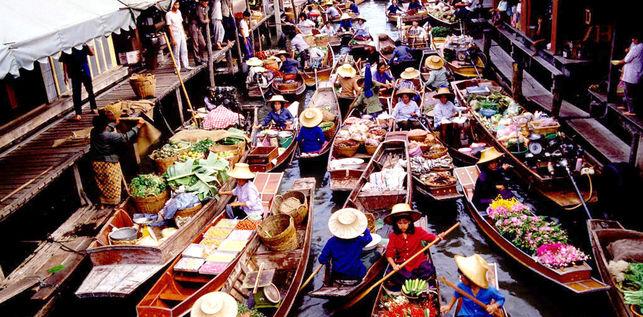 Mercado-flotante-Tailandia-Canal-Damnoen-Saduak