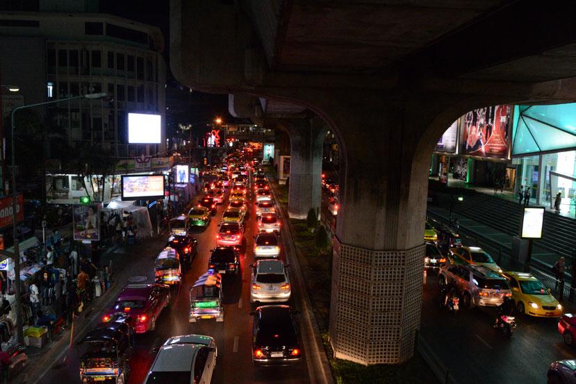 Trafico-Bangkok