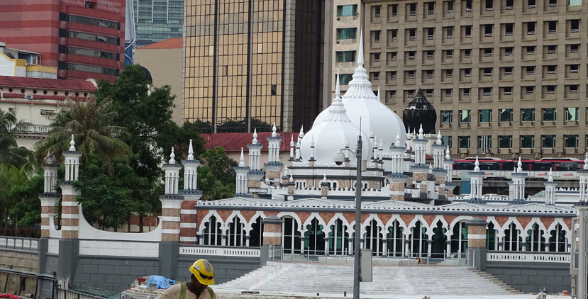 Mezquita-Jamek-SultánAbdul