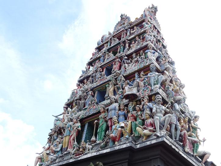 Templo-Sri-Mariamman-Singapur