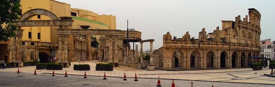 Roman-amphitheater-Macau
