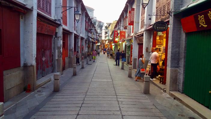 Felicidade-street-Macau