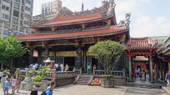 Templo-Longshan-Taipei