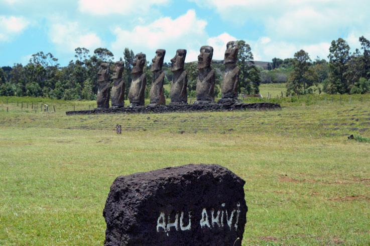 Ahu-Akivi-moais