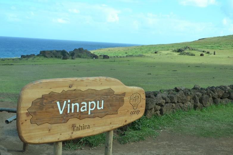 Ahu-Vinapu-moai