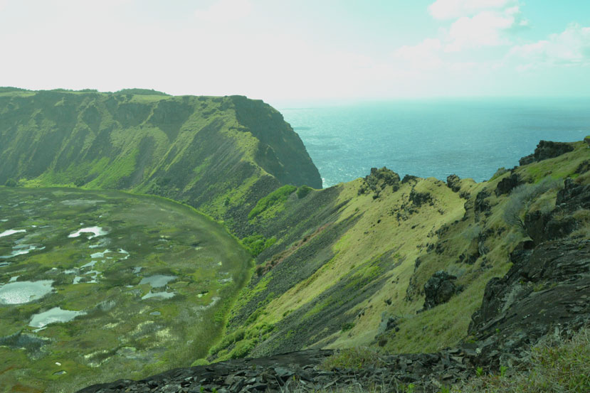 Crater-Rano-Kau-Kari-Kari