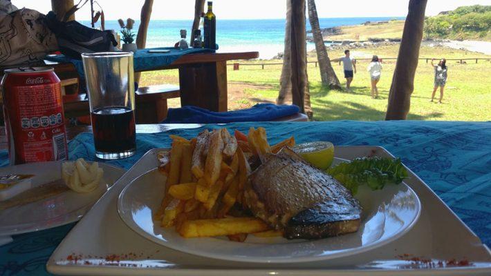 Tuna-dish-Anakena-beach