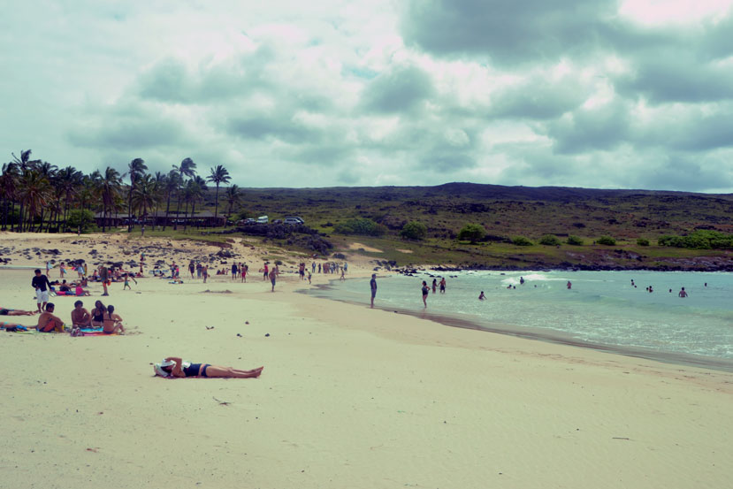 Anakena-beach