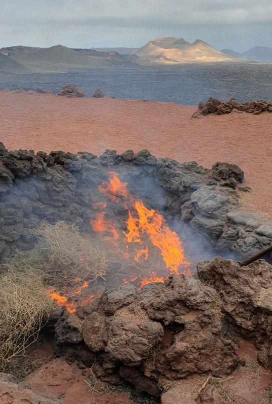 Timanfaya-fire