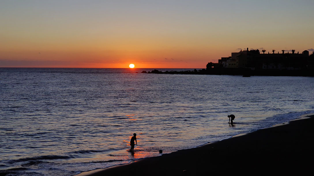sunset-La-Gomera