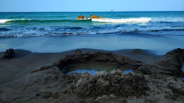 Playa-hot-water