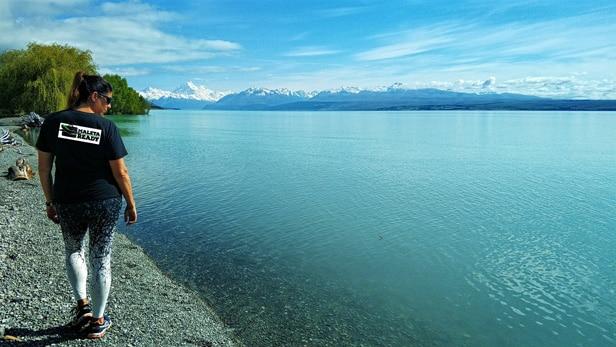 Pukaki-lake