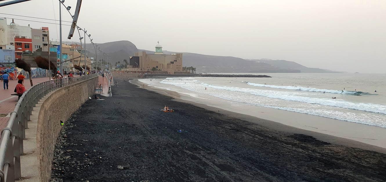 Canteras-beach